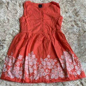 Gap Kids • Girl's • Dress • Peach • Small 6/7